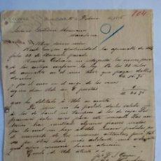 Cartas comerciales: CARTA COMERCIAL. PUERTO CABELLO. VENEZUELA. FEBRERO 1895. F. S. COOPER.. Lote 27334619