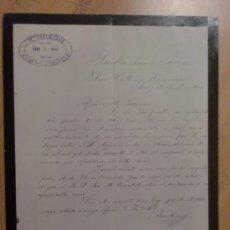 Cartas comerciales: CARTA COMERCIAL. PUEBLA. MEXICO. JUNIO 1895. JOSE CANO.. Lote 27889657