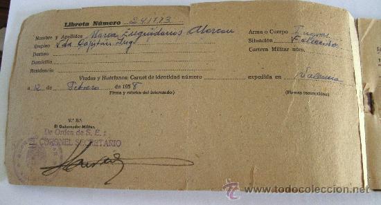 Cartas comerciales: libreta para el suministro de medicamentos,servicio farmaceutico del ejercito, farmacia militar 1958 - Foto 3 - 28400499