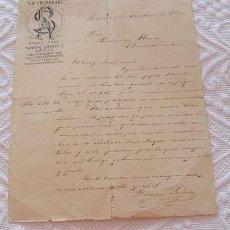 Cartas comerciales: CARTA COMERCIAL LA UNIVERSAL 1895 MEXICO A JEREZ. Lote 28628411