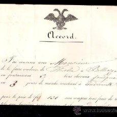 Cartas comerciales: IMPERIO RUSO. ZARISTAS. VENTA DE CABALLOS. 1868. LEER. Lote 28728996