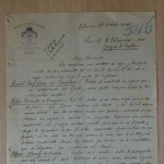 Cartas comerciales: CARTA COMERCIAL. VALENCIA. OCTUBRE 1916. REINA VICTORIA HOTEL.. Lote 28825596