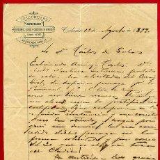 Cartas comerciales: DOCUMENTO FACTURA JOSE GRUART IMPORTADOR DE MADERAS, CAIBARIEN , CUBA 1899 , ORIGINAL, K60. Lote 28902821