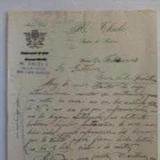 Cartas comerciales: CARTA COMERCIAL. MADRID. FEBRERO 1927. ATEHIER THIELE. SASTRE DE SEÑORAS.. Lote 29039336