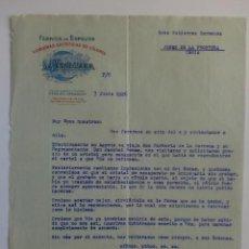Cartas comerciales: CARTA COMERCIAL. ZARAGOZA. JUNIO 1926. LA VALENCIANA. FABRICA DE ESPEJOS. . Lote 29100356