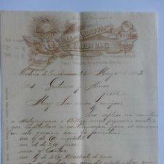 Cartas comerciales: CARTA COMERCIAL. CUBA. HABANA. MAYO 1903. CANDIDO LOPEZ. EL VALLE DE ANDORRA, FABRICANTE DE LICORES.. Lote 29108261