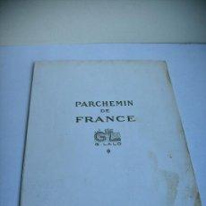 Cartas comerciales: ANTIGUO PAPEL DE CARTA PACHEMIN DE FRANCIA. Lote 31115694
