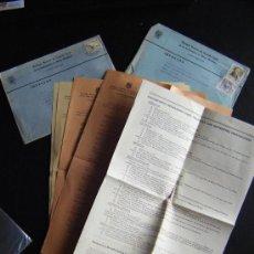Cartas comerciales: LOTE 2 CARTAS DEL MONTEPIO NAC. DE PREVISION SOCIAL DE TRABAJADORES DE MINAS METALICAS. CON SELLOS.. Lote 31370112