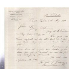 Cartas comerciales: CARTA COMERCIAL. PUERTO CABELLO. VENEZUELA. GARCIA HERMANOS Y CA. 1896.. Lote 32483580