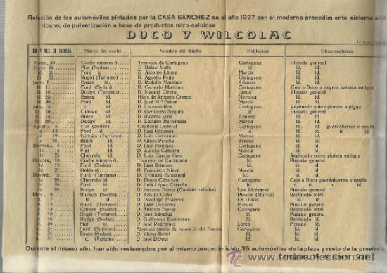 Cartas comerciales: ANTIGUA PUBLICIDAD DE CASA SANCHEZ -CARTAGENA - Foto 2 - 32603428