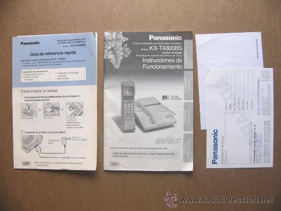 manual de instrucciones y documentacion telefon comprar cartas rh todocoleccion net manual usuario panasonic kx-tes824 manual usuario panasonic kx-t7730 español
