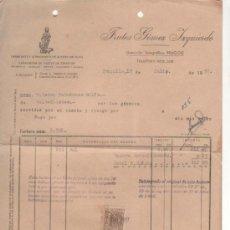 Cartas comerciales: CARTA COMERCIAL FRUTOS GÓMEZ IZQUIERDO: FÁBRICA ACEITE DE OLIVA. TRUJILLO 1957 . Lote 34122164