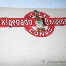 Cartas comerciales: PAPEL (CARTA) ANTIGUO DE: JEREZ OXIGENADO COÑAC.- MIDE 27 X 20 CN. , SIN USAR. Lote 34684046