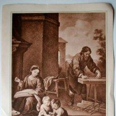 Cartas comerciales: HUECOGRABADO MUMBRÚ (BARCELONA). SAGRADA FAMILIA.-JESÚS Y SAN JUAN, JUGANDO. Lote 35738045