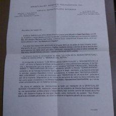 Cartas comerciales: CARTA ORIGINAL Y FIRMADA DE SPIRITUALIST SCIENCE FOUNDATION, INC. 1966 FIRMADA!!. Lote 36411697