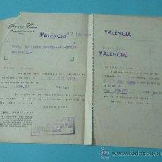 Cartas comerciales: CARTA COMERCIAL BANCO COCA CON DOS CUERPOS. 1963. Lote 36530486