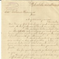 Cartas comerciales: CARTA COMERCIAL DE LIBRERIA ESPAÑOLA. PUERTO CABELLO, VENEZUELA. 1895. Lote 36902407