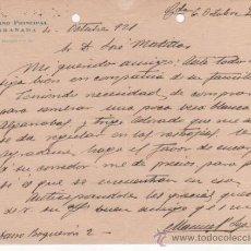Cartas comerciales: CARTA COMERCIAL DEL CASINO PRINCIPAL. GRANADA 1921. TAMAÑO 16,5 X 21,5 CMS. Lote 37328405