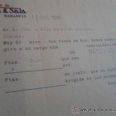 Cartas comerciales: CARTA COMERCIAL . Lote 37316736