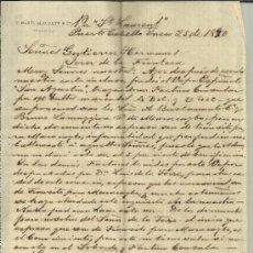 Cartas comerciales: CARTA COMERCIAL DE S. MARTI ALEGRETT & Cª. PUERTO CABELLO. VENEZUELA. 1890 (2 HOJAS). Lote 37851494