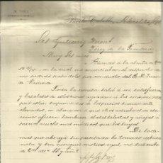 Cartas comerciales: CARTA COMERCIAL DE M. FREY. PUERTO CABELLO. VENEZUELA. 1891 . Lote 38131109