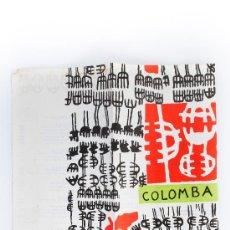 Cartas comerciales: CARTA DEL RESTAURANTE COLOMBA-VENEZIA, DEL DISEÑADOR CAPOGROSSI. Lote 38322409