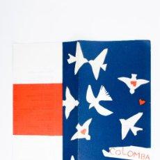 Cartas comerciales: CARTA DEL RESTAURANTE COLOMBA-VENEZIA, FIRMADO MATTA. Lote 38322435