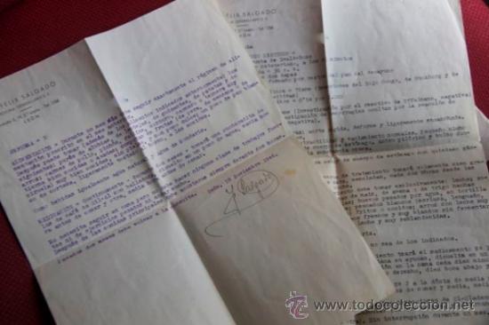 Cartas comerciales: ANALISIS DIAGNOSTICO MEDICO Y RECETA CON SOBRE 1946 - Foto 4 - 38421978