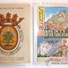 Cartas comerciales: CARDONA . CARDONA . PROGRAMA . FACSIMIL .COMIC . MIL·LENARI DE LA CARTA DE REPOBLAMENT 986-1986.. Lote 38456605