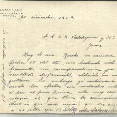 Carta comercial de daniel garc a comprar cartas comerciales antiguas en - Agente comercial colegiado ...