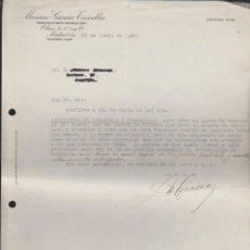 Cartas comerciales: CARTA CON MEMBRETE COMERCIAL. MADRID 25 JUNIO DE 1940.. Lote 38946062