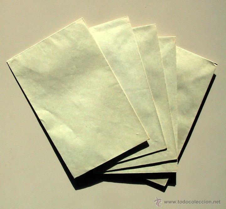 Cartas comerciales: ANTIGUO PAPEL CARTA y SOBRES - ROSAS Y CLAVELES - 2502 - Foto 2 - 41282228