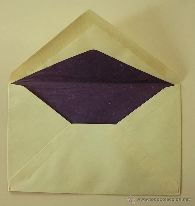 Cartas comerciales: ANTIGUO PAPEL CARTA y SOBRES - ROSAS Y CLAVELES - 2502 - Foto 5 - 41282228