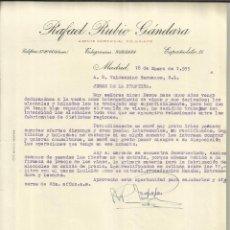 Rafael rubio g ndara agente comercial colegiad comprar cartas comerciales antiguas en - Agente comercial colegiado ...