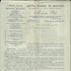 Lettere commerciali: CARTA CIRCULAR DE MODESTO POLO. OFICINA DE PROPIEDAD INDUSTRIAL. MADRID. 1924. Lote 42960158
