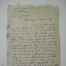 Cartas comerciais: ANTIGUO CARTA CON MEMBRETE DE 1928. LA COSMOPOLITA GRAN CAFÉ-CERVECERÍA. MÁLAGA. . Lote 43594042