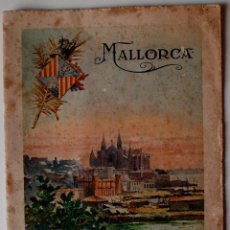 Cartas comerciales: MUY ANTIGUO LIBRITO CON HUECOGRABADOS (MUMBRU) GUIA DE MALLORCA. Lote 44461960