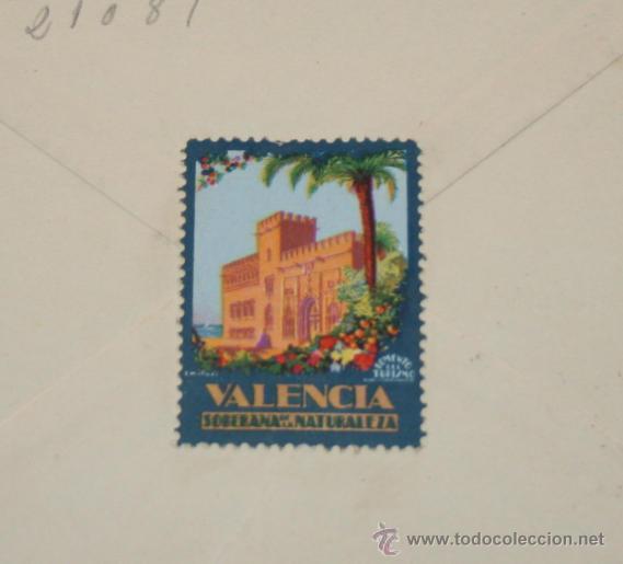 Cartas comerciales: CARTA EN SOBRE DE MUEBLES MESADO POR DEVOLUCION DE LETRA, VALENCIA 1961, SELLOS ANTIGUOS - Foto 4 - 44561465