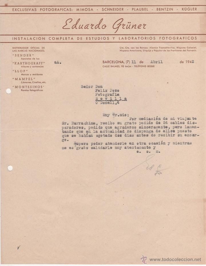 carta comercial eduardo grüner: instalación est - Comprar Cartas ...