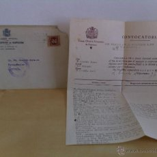 Cartas comerciales: CARTA DIRIGIDA A SR.DN.JOAQUÍN AZPIAZU. FARMACÉUTICO. AZCOITIA. AÑO 1939.. Lote 46405952