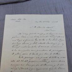 Cartas comerciales: ABOGADO MOLTO, ALCOY ALICANTE 1906. Lote 49995108