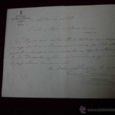 Cartas comerciales: EL CONTADOR DEL HOSPITAL PROVINCIAL DE OVIEDO 1919. Lote 47939679
