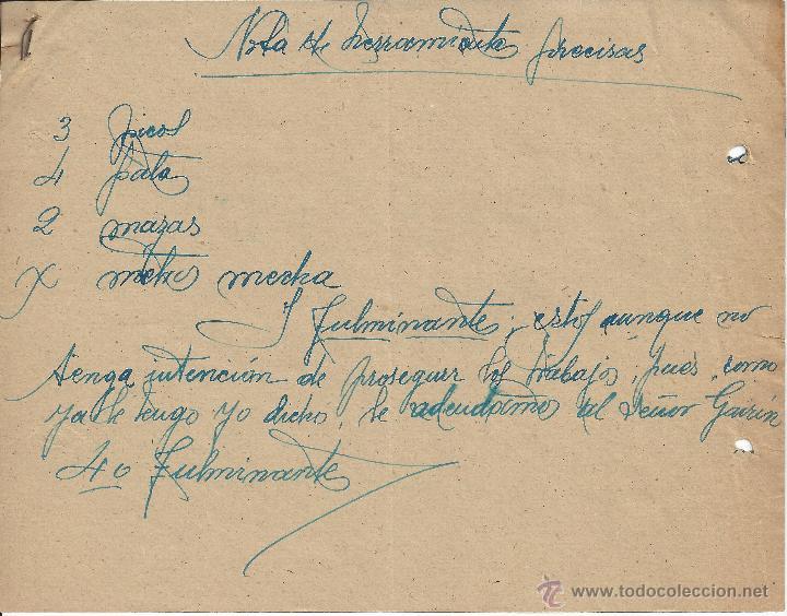 Cartas comerciales: CARTA COMERCIAL MANUSCRITA - Foto 3 - 48627613