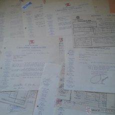 Cartas comerciales: LOTE 13 CARTAS COMERCIALES DE SUEVIA FILMS CESAREO GONZALEZ AÑOS 50-60. Lote 49023942