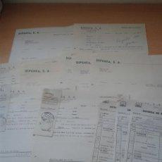 Cartas comerciales: LOTE 12 CARTAS COMERCIALES DIPENFA, S.A. AÑOS 50-60. Lote 49024634