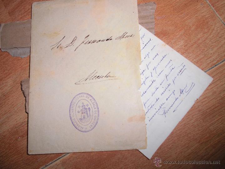 CARTA FAMILIA RICARDO MUR SANCHO VALENCIA FERNANDO MUR 1942 MANUSCRITO 4 PAGINAS CHIVERT (Coleccionismo - Documentos - Cartas Comerciales)