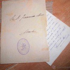 Cartas comerciales: CARTA FAMILIA RICARDO MUR SANCHO VALENCIA FERNANDO MUR 1942 MANUSCRITO 4 PAGINAS CHIVERT. Lote 26555665