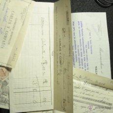 Cartas comerciales: CARBONES MINERALES CARLES Y COMPAÑIA, VALENCIA, 1914 -DOCA-. Lote 93514497