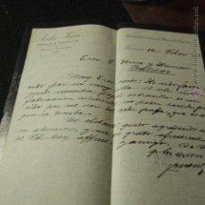 Cartas comerciales: ISIDRO JUAN, MURCIA, CARTA, DIRECCION TELEGRÁFICA, 1902 -DOCA-. Lote 50585732