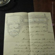 Cartas comerciales: JOSE MARIA ACEVEDO, PERIODICO LA JARRA, JEREZ, 1902 -DOCA-. Lote 50585826